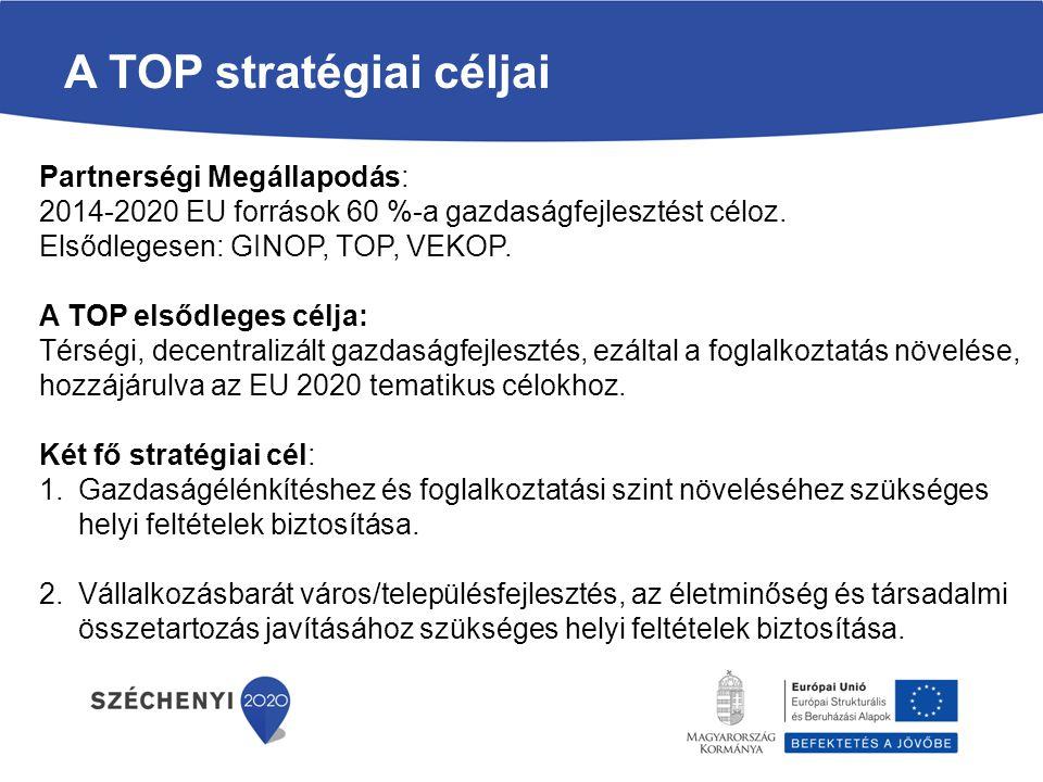 Partnerségi Megállapodás: 2014-2020 EU források 60 %-a gazdaságfejlesztést céloz.