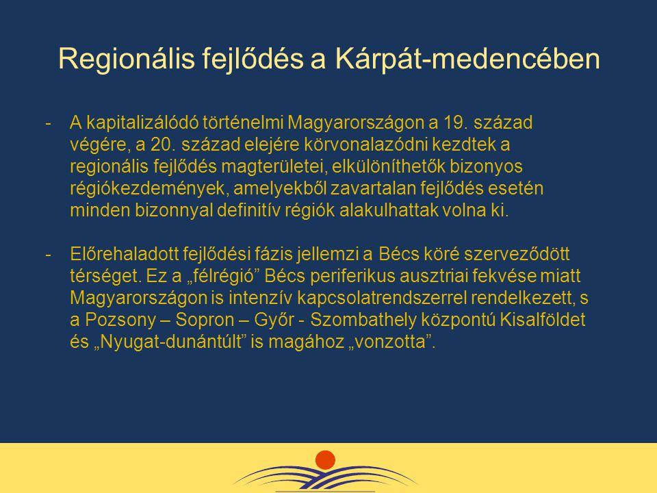 -A kapitalizálódó történelmi Magyarországon a 19. század végére, a 20.