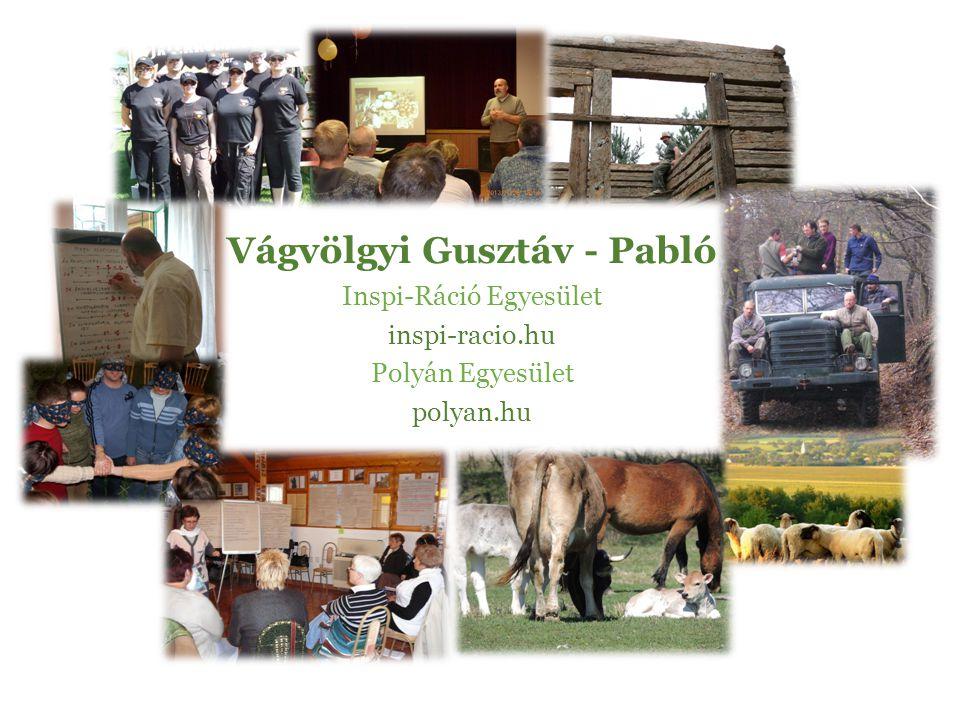 Vágvölgyi Gusztáv - Pabló Inspi-Ráció Egyesület inspi-racio.hu Polyán Egyesület polyan.hu