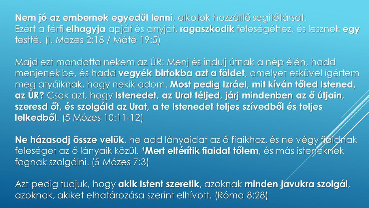 """SZELLEMI HARC """"… hozzá illő segítőtársat … 'Körülvenni' (héber eredeti jelentés) -Két fős kommandó -Feleség: radar (a bűneset torzított rajta) -Férfi: harcos lelkület (a bűneset torzított rajta) -Harctér: sebezhetőség -Isten adott fegyvereket a harchoz"""