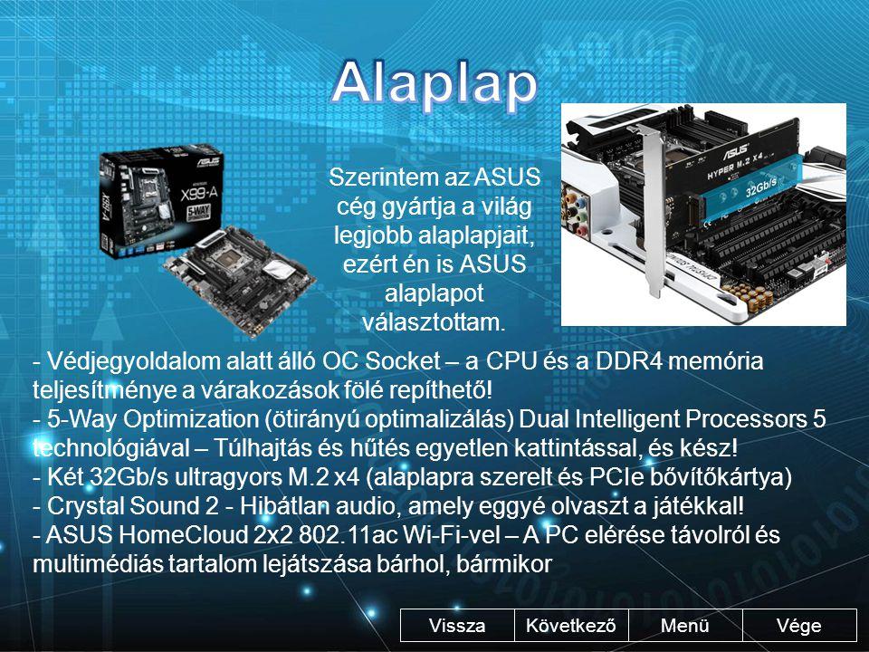 """Vége KövetkezőMenü Intel Pentium: - 2.5 GHz - """"8 mag Intel Core i5- 4440: - 3.3 GHz - 4 mag Intel Core i7- 5820K: - 3.3 GHz - 6 mag Vissza Lepenye Ambrus"""