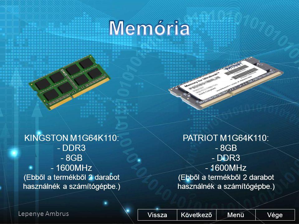 Vége KövetkezőMenü Samsung 250GB SSD. Az SSD egy modern memória alapú gyors meghajtó. A rendszerfájlokat ajánlott az SSD-re telepíteni, mert így gyors
