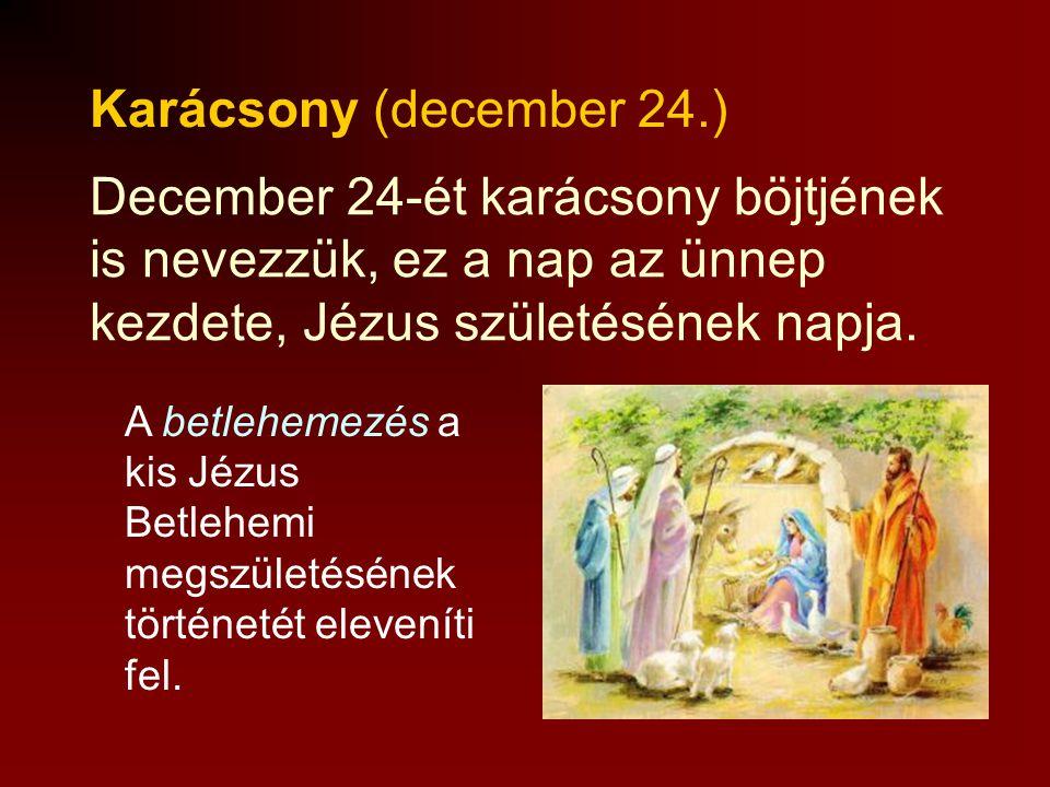Luca napja (december 13.) Ehhez a naphoz sok hagyomány, babona társul. E napon nem volt szabad fonni, kenyeret sütni. A lányok jósoltak: a gombócba gy