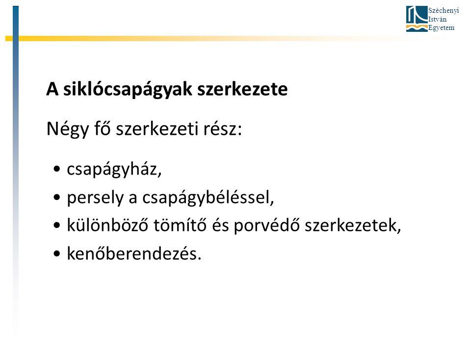Széchenyi István Egyetem Siklócsapágyak súrlódási viszonyaira Stribek végzett vizsgálatokat.