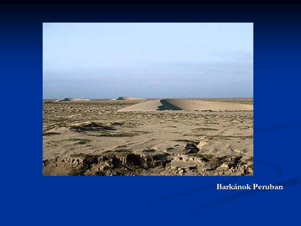 Barkánok Peruban Barkánok Peruban