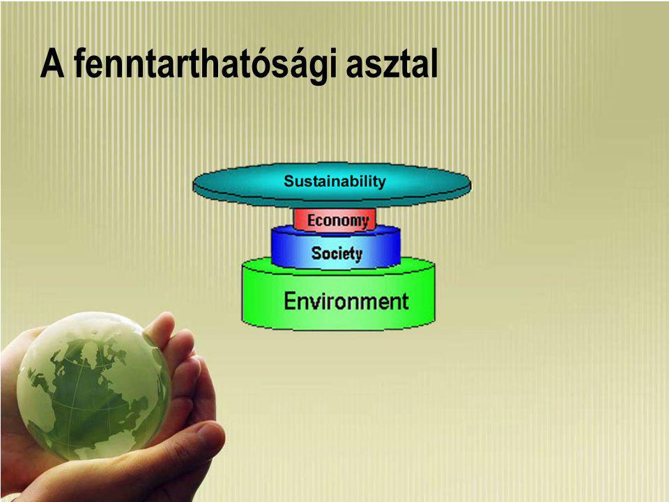 Gazdálkodástudományi Kar www.uni-corvinus.hu/gkar 2 A fenntarthatósági asztal