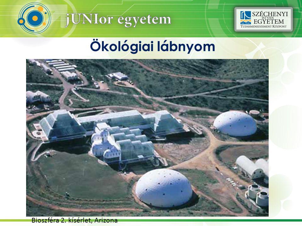 Ökológiai lábnyom Bioszféra 2. kísérlet, Arizona