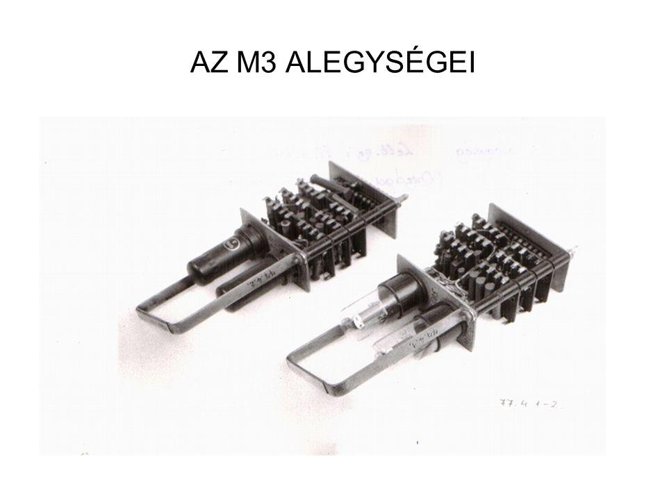 AZ M3 ALEGYSÉGEI