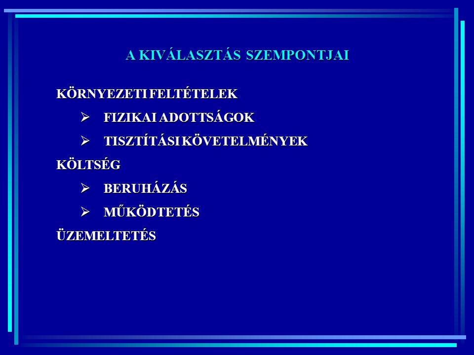 A HAGYOMÁNYOSTÓL ELTÉRŐ MEGOLDÁSOK GYÖKÉRZÓNÁS TISZTÍTÁS