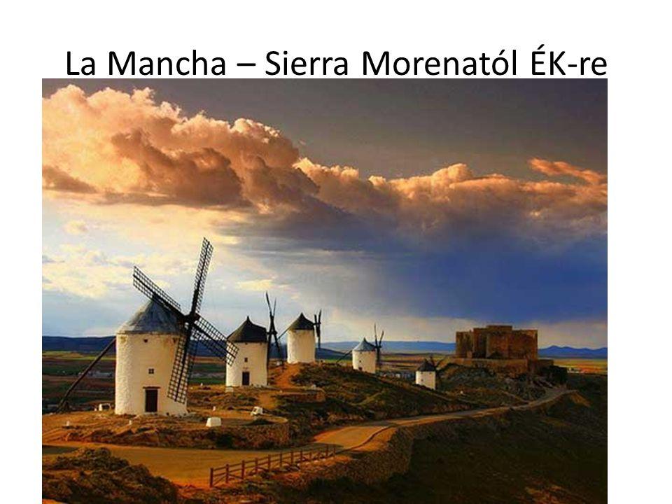 La Mancha – Sierra Morenatól ÉK-re