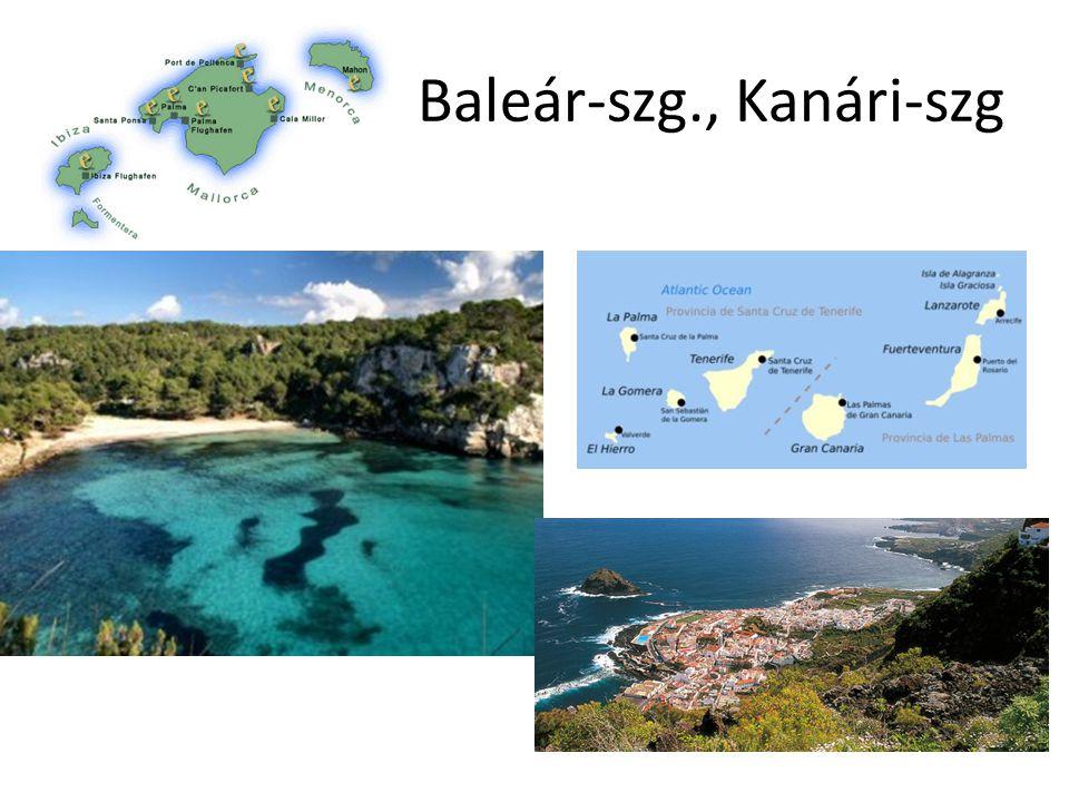 Baleár-szg., Kanári-szg