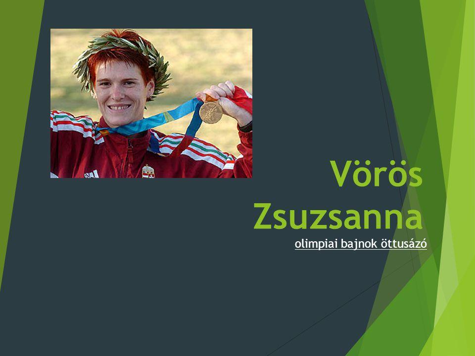 Vörös Zsuzsanna olimpiai bajnok öttusázó