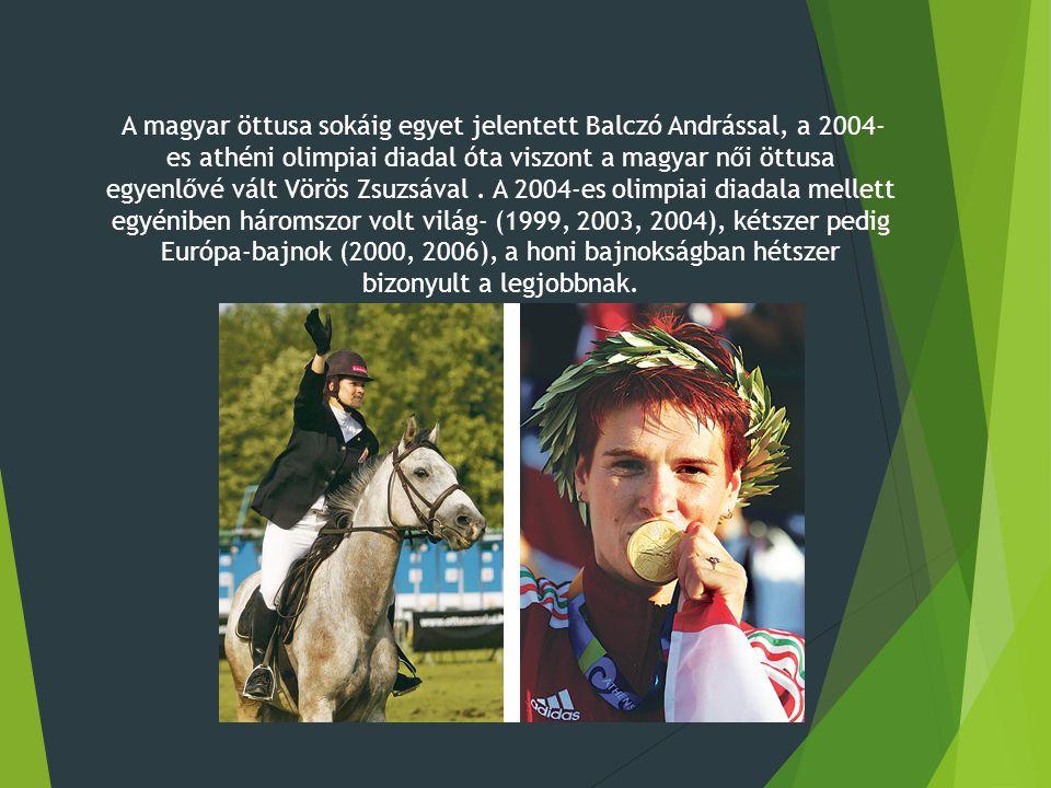 A magyar öttusa sokáig egyet jelentett Balczó Andrással, a 2004- es athéni olimpiai diadal óta viszont a magyar női öttusa egyenlővé vált Vörös Zsuzsával.