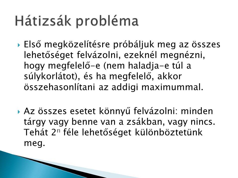  Idei programozói OKTV döntőjének egyik feladata (11-12.