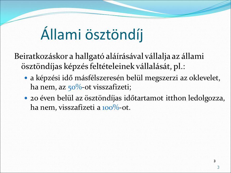 4 A bolognai rendszer DOKTORI (PhD) 6 félév MESTERKÉPZÉS (MA/MSc) 2-5 félév ALAPKÉPZÉS (BA/BSc) 6-7 félév O S Z T A T L A N T A N Á R 10- 12 félév SZTK FOSZK MUNKAERŐ PIAC