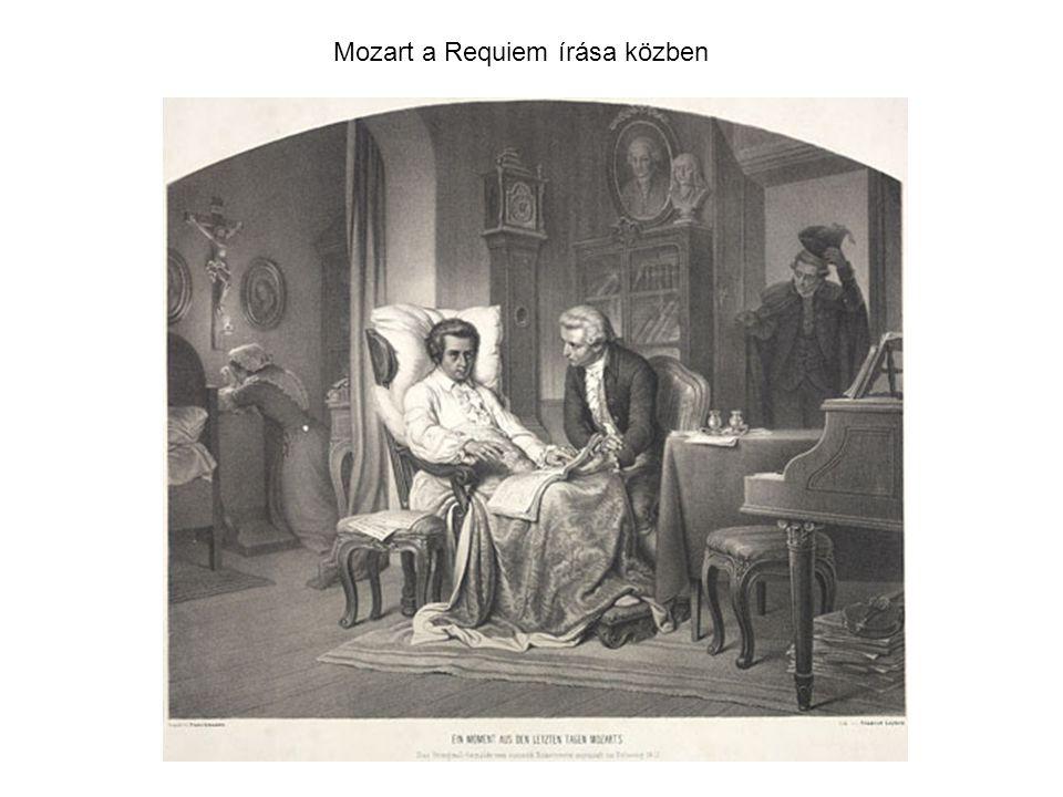 Mozart a Requiem írása közben