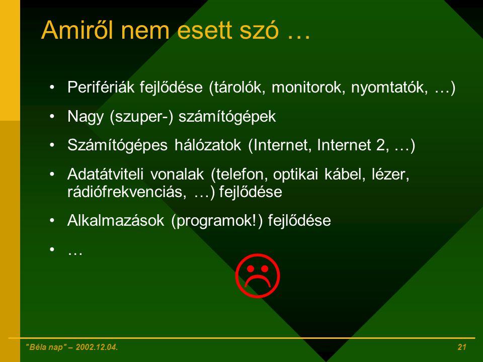 Béla nap – 2002.12.04.20 5.