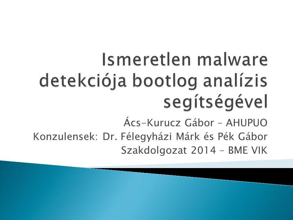  Sok a célzott támadás  A víruskeresők még nem hatékonyak  Statikus elemzés hátrányai  IDS / IPS rendszerek kijátszhatósága  Dinamikus elemzés lehetőségei