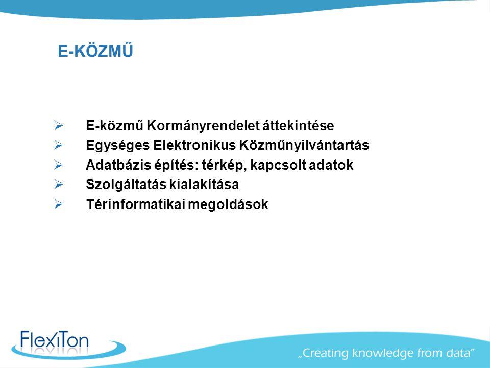 E-közmű Kormányrendelet Hatályba lépett a 324/2013.