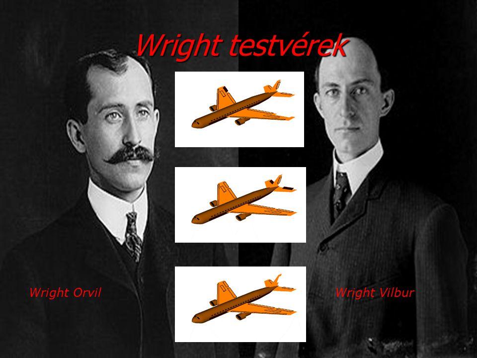 Wright testvérek Wright OrvilWright Vilbur