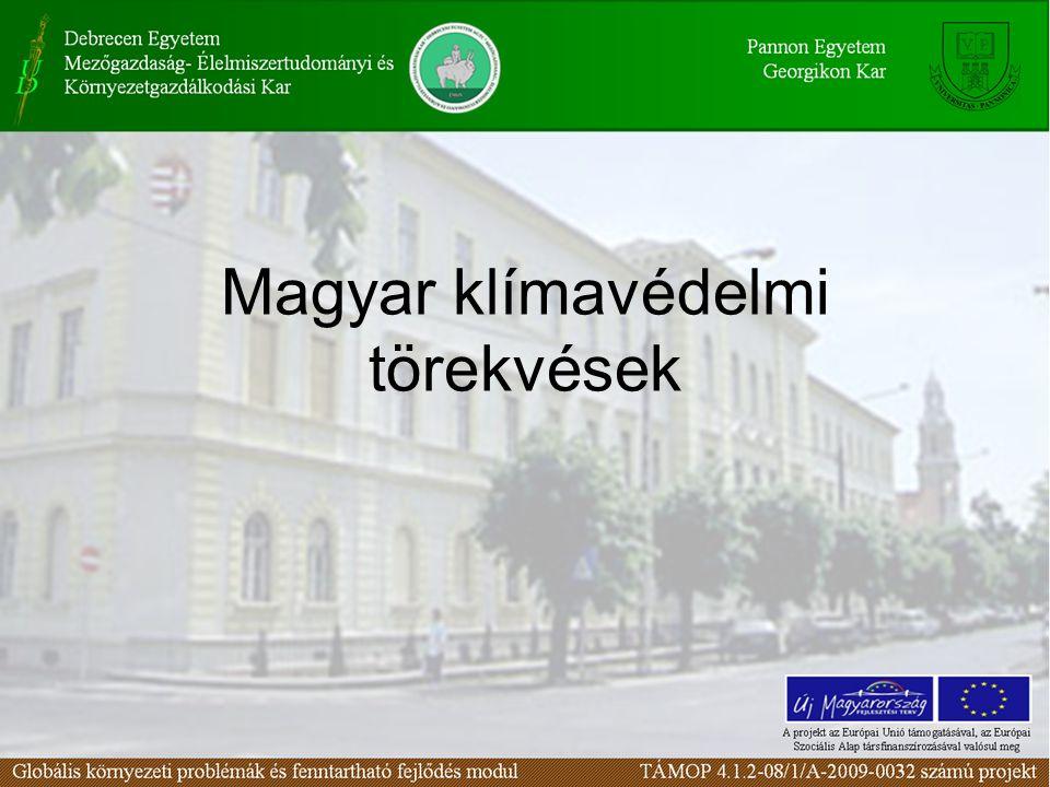 Magyar klímavédelmi törekvések