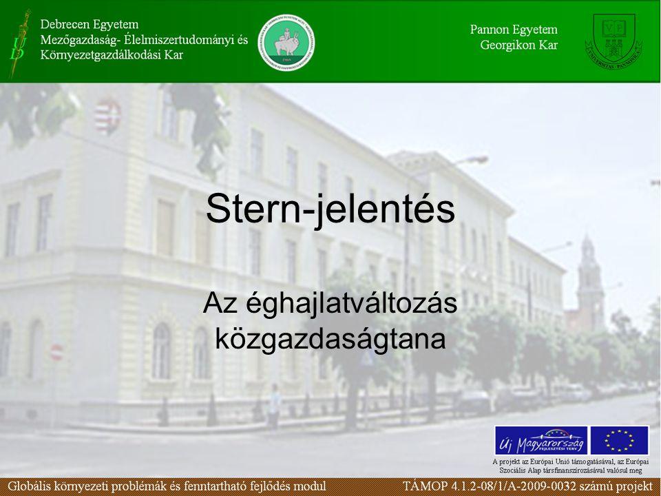 Stern-jelentés Az éghajlatváltozás közgazdaságtana