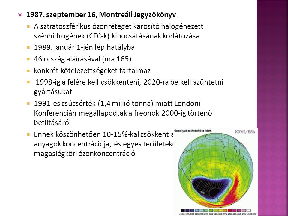  - Budapesti Corvinus Egyetem: Klímaváltozás és környezeti jövőkép  - Faragó T., Kerényi Attila: Nemzetközi együttműködés az éghajlatváltozás veszélyének, az üvegházhatású gázok kibocsátásának csökkentésére  - Katona Gabriella szakdolgozat: A globális felmelegedés világgazdasági következményei  - Országos Meteorológiai Szolgálat, 2002: Sikerült-e megmenteni az ózonpajzsot  - Az Éghajlatváltozási Kormányközi Testület (IPCC) 4.