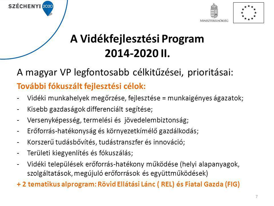 VP források (300Ft/€) Cikk/ kód Intézkedés/alintézkedés/művelet megnevezése Teljes közkiadás (Mrd Ft) 14.