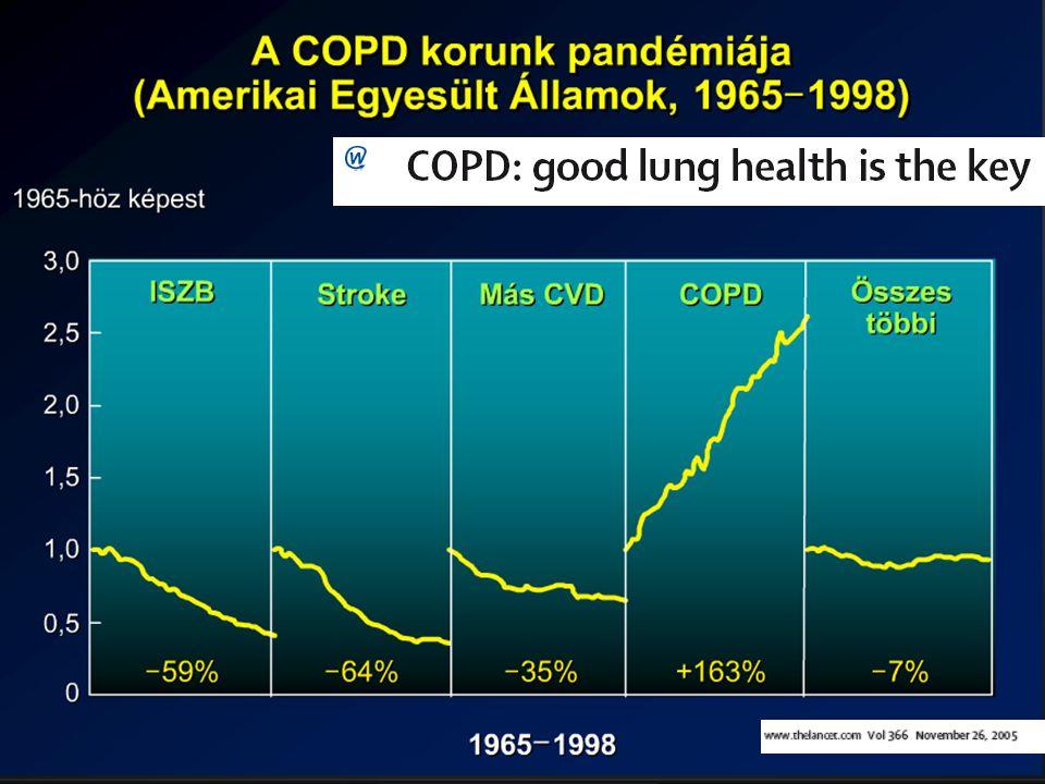 26 A COPD comorbititás prevalenciák Sidney S. et al CHEST 2005; 128: 2068-2075.