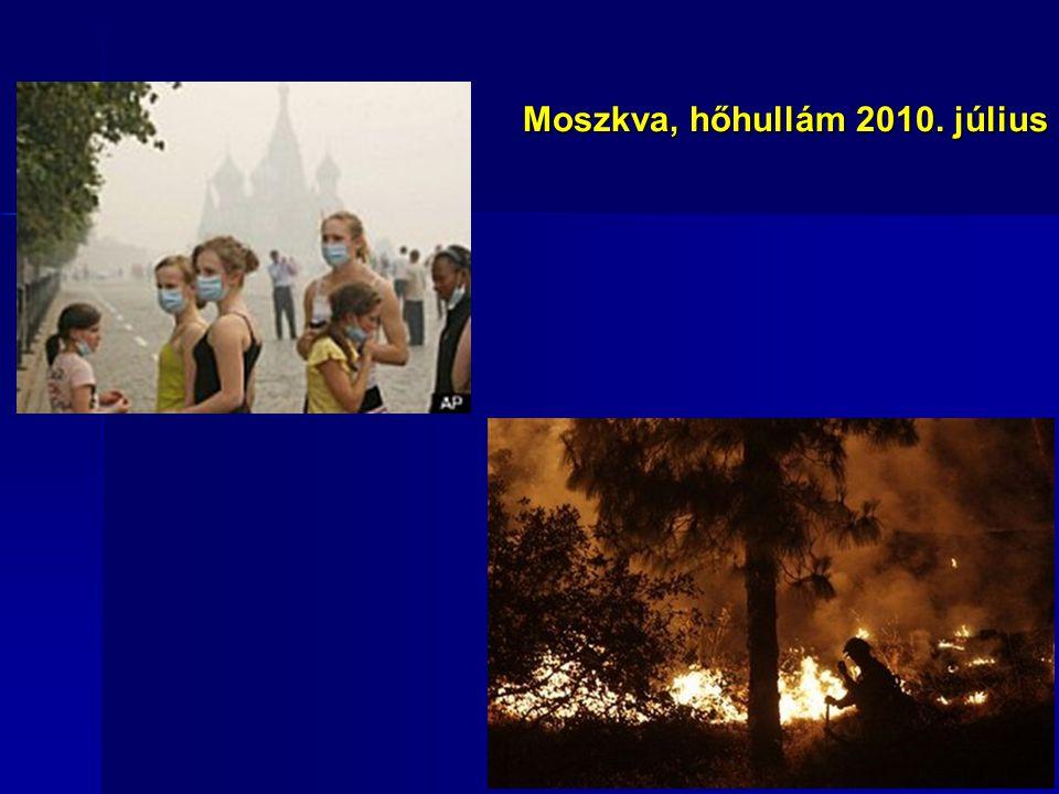 Moszkva, hőhullám 2010. július