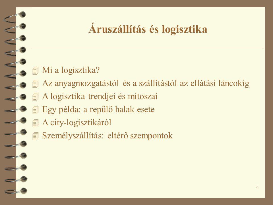 4 4 Mi a logisztika.