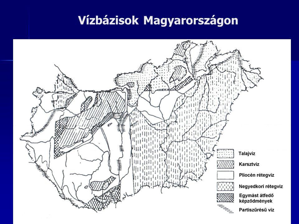 Vízbázisok Magyarországon