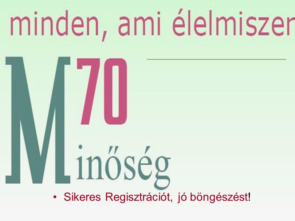 Az m70.hu regisztrációs folyamatát követheti végig illusztrálva – klikkeivel.