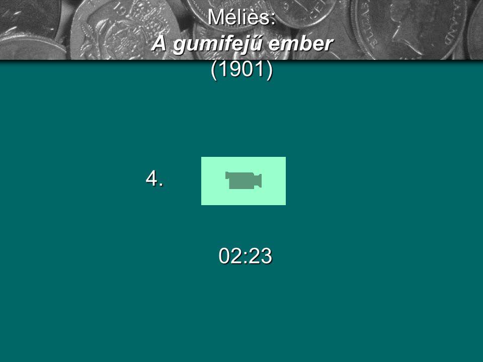 Méliès: Utazás a holdba (1902) 11:48 5.
