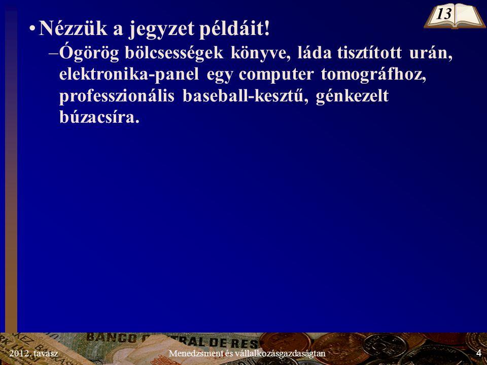 2012.tavasz15Menedzsment és vállalkozásgazdaságtan 1.1.3.