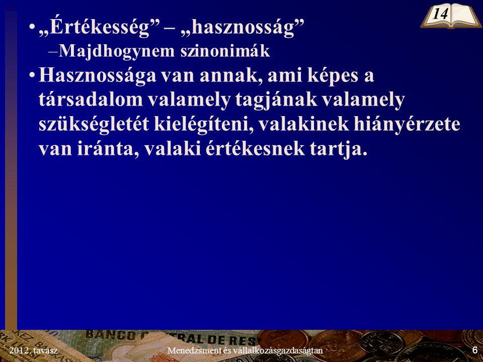 2012.tavasz7Menedzsment és vállalkozásgazdaságtan 1.1.2.