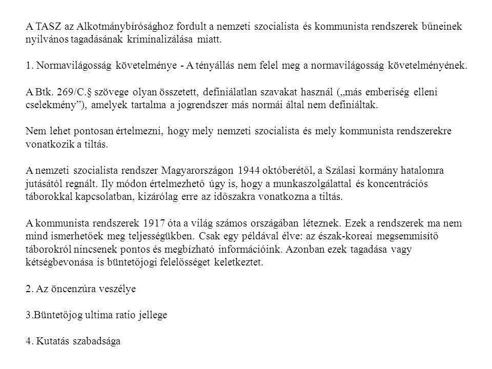 XIII.FEJEZET AZ EMBERIESSÉG ELLENI BŰNCSELEKMÉNYEK Népirtás 142.
