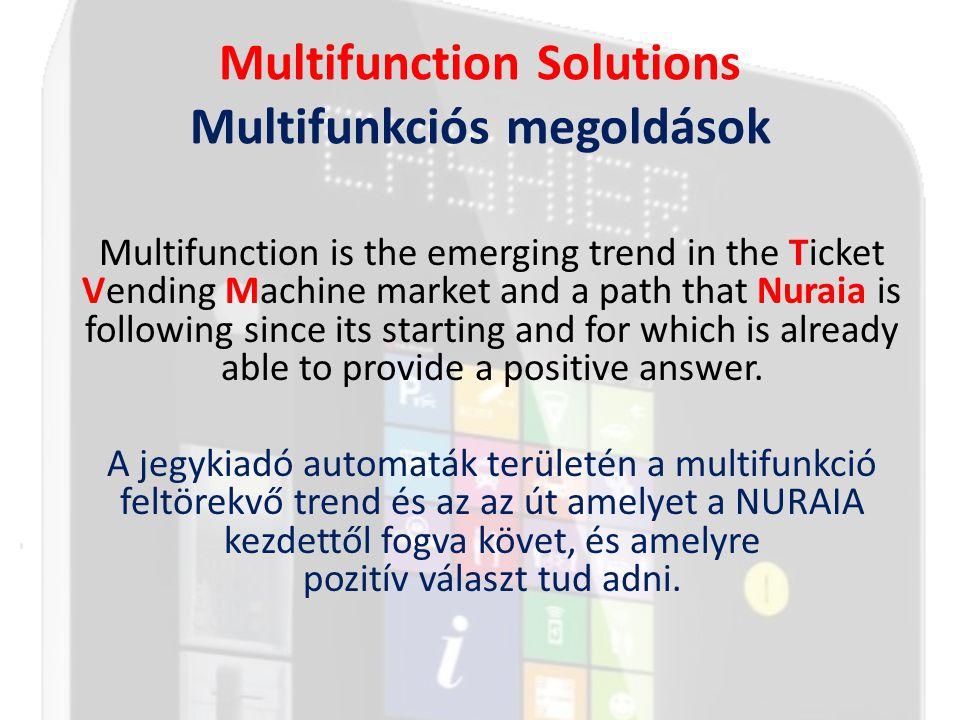 Multifunction - Case History Esettanulmány II.