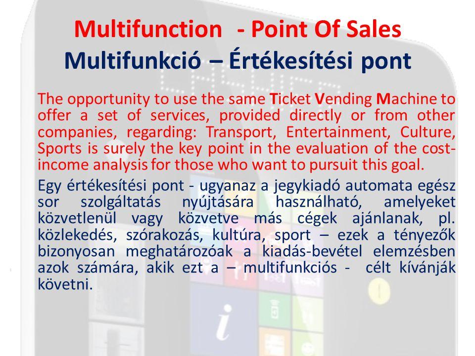 Why Multifunction Miért multifunkció.