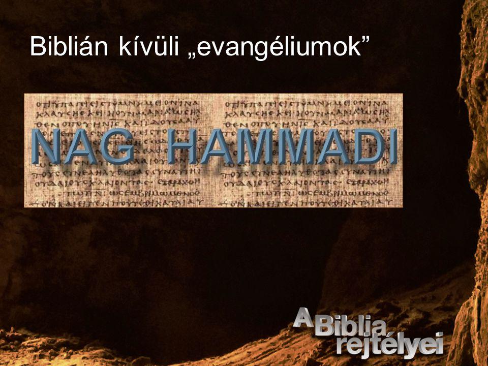 """Biblián kívüli """"evangéliumok"""""""