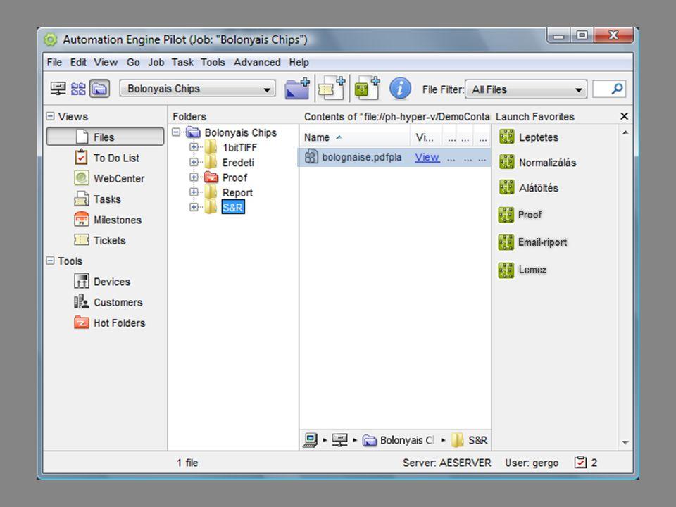 36 Egy flexo termék gyártási folyamata PDF DXF CMS XML