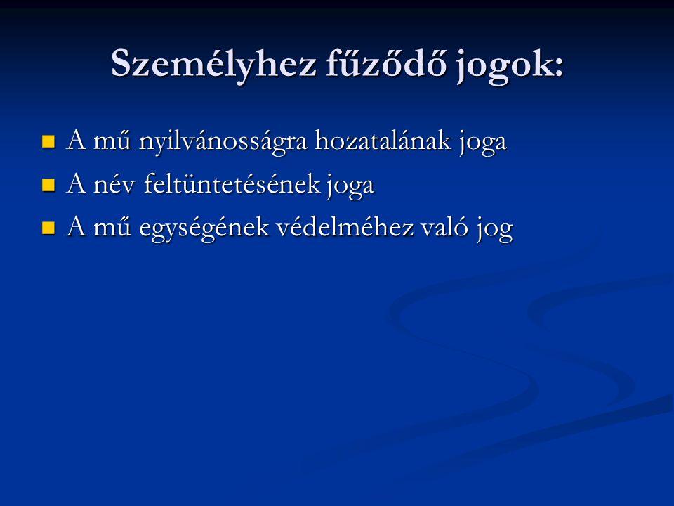 Magyar Szabadalmi Hivatal II.Feladat- és hatáskörébe tartozik az Szt.