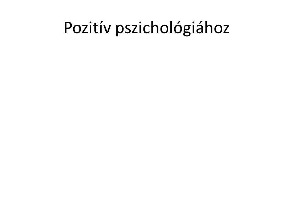 Pozitív pszichológiához