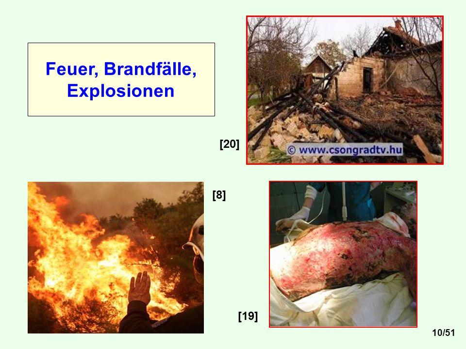 [8] [20] [19] Feuer, Brandfälle, Explosionen 10/51