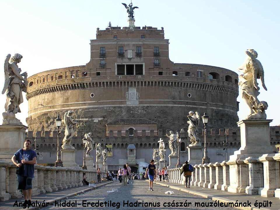 Angyalvár-Castel Sant Angelo a Tiberis partján