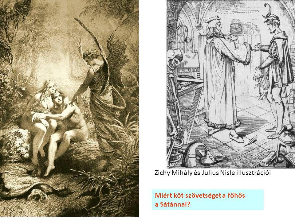 Miért köt szövetséget a főhős a Sátánnal? Zichy Mihály és Julius Nisle illusztrációi