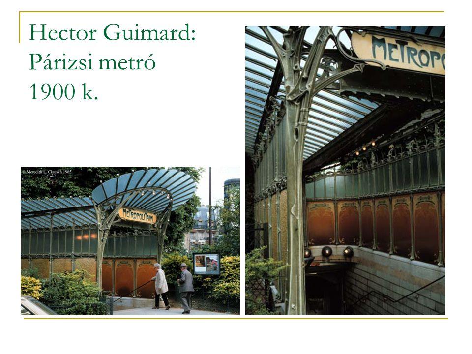 Hector Guimard: Párizsi metró 1900 k.