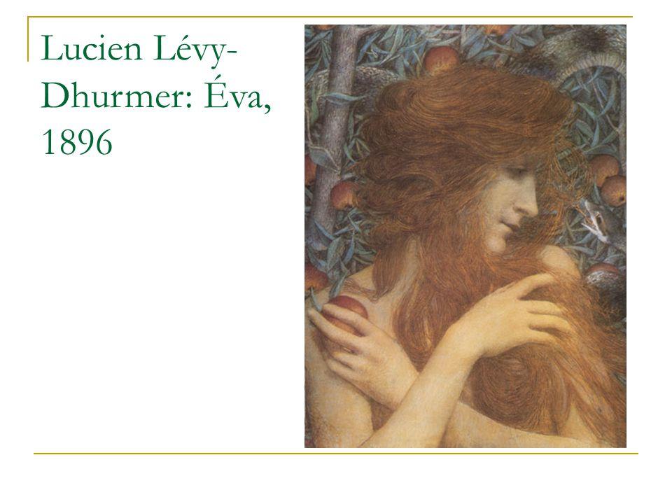 Lucien Lévy- Dhurmer: Éva, 1896