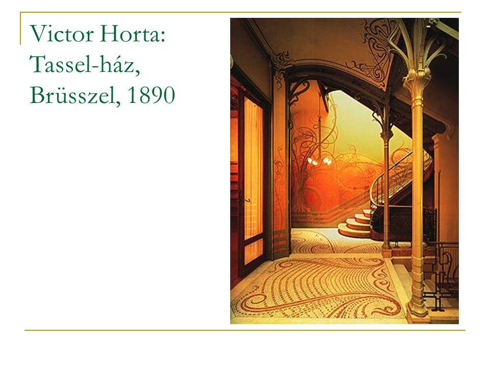 Victor Horta: Tassel-ház, Brüsszel, 1890