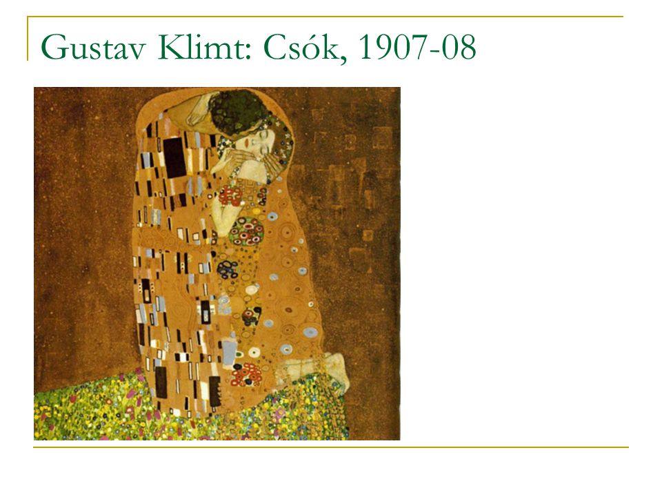 Gustav Klimt: Csók, 1907-08